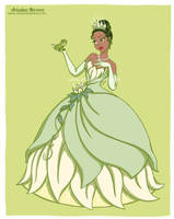 Princess Tiana - Disney fan art collection by ariartna