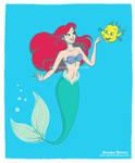 The Little Mermaid - Disney fan art collection