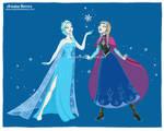Frozen, Disney princesses fan art