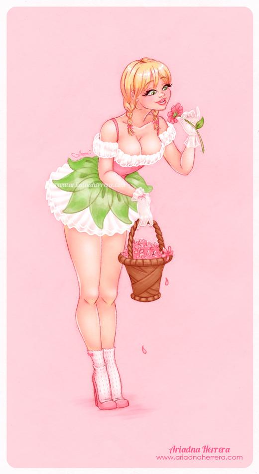 May's Pin up Girl by ariartna