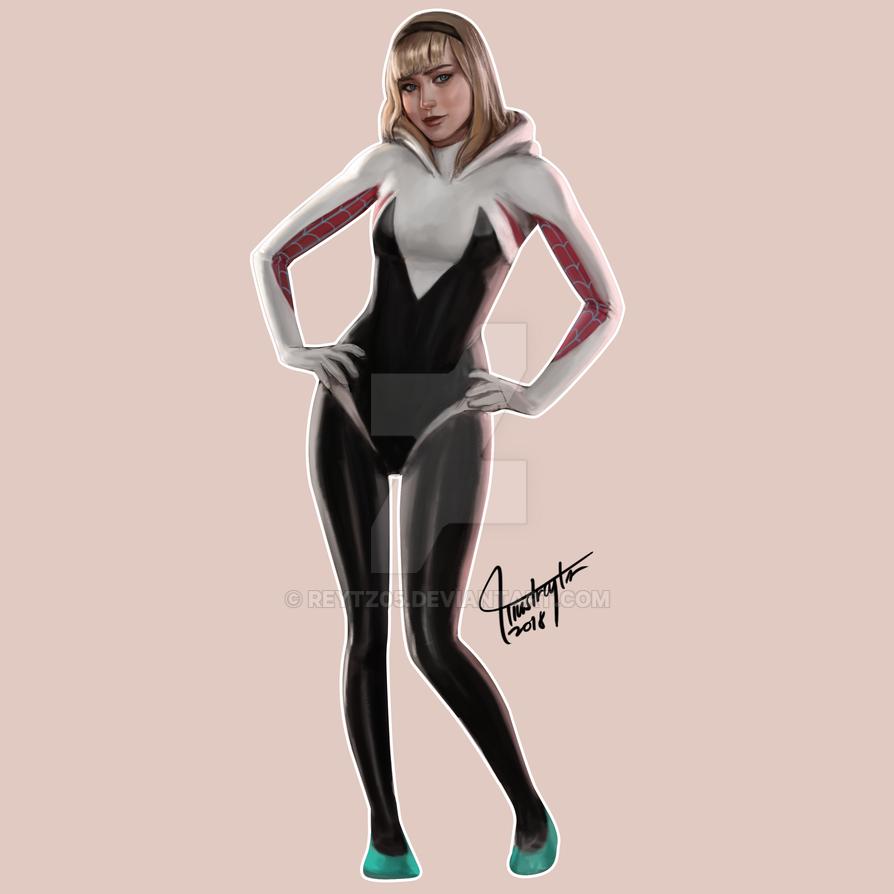 Spider-Gwen by reytz05