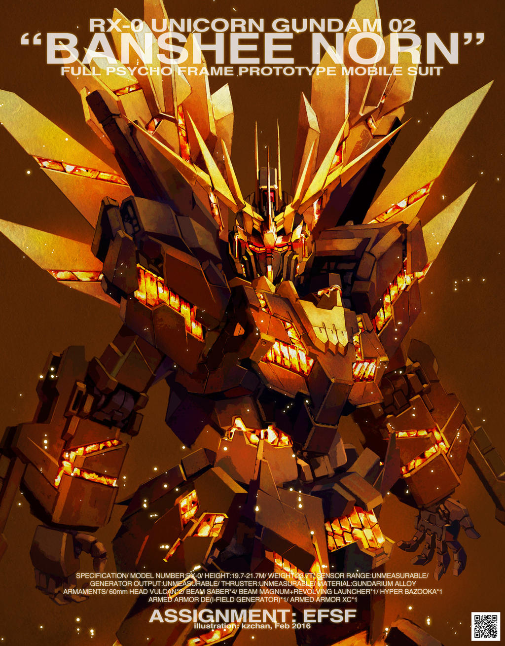 RX-0 Gundam Unicorn Banshee Norn by kzchan on DeviantArt