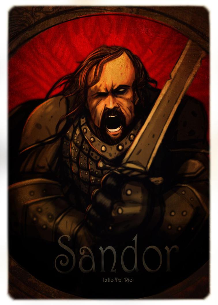 Sandor the hound dog by juliodelrio
