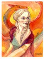 Khaleesi by juliodelrio