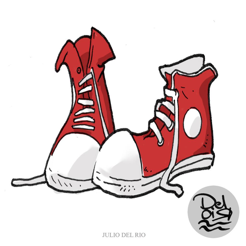 Red Shoe Illustration
