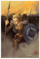 Lagertha The Shieldmaiden _ Julio Del Rio by juliodelrio