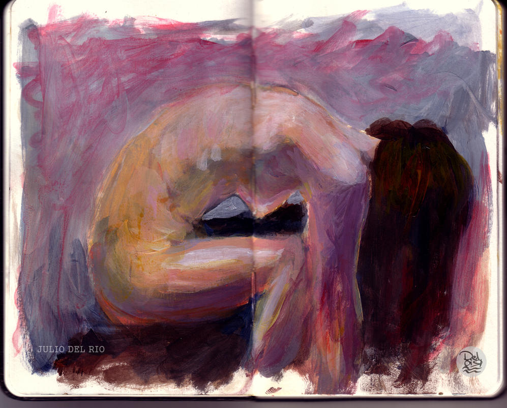 Painting Scketchbook by juliodelrio