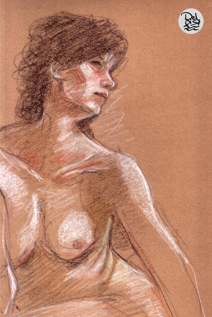 nude study 3 by juliodelrio