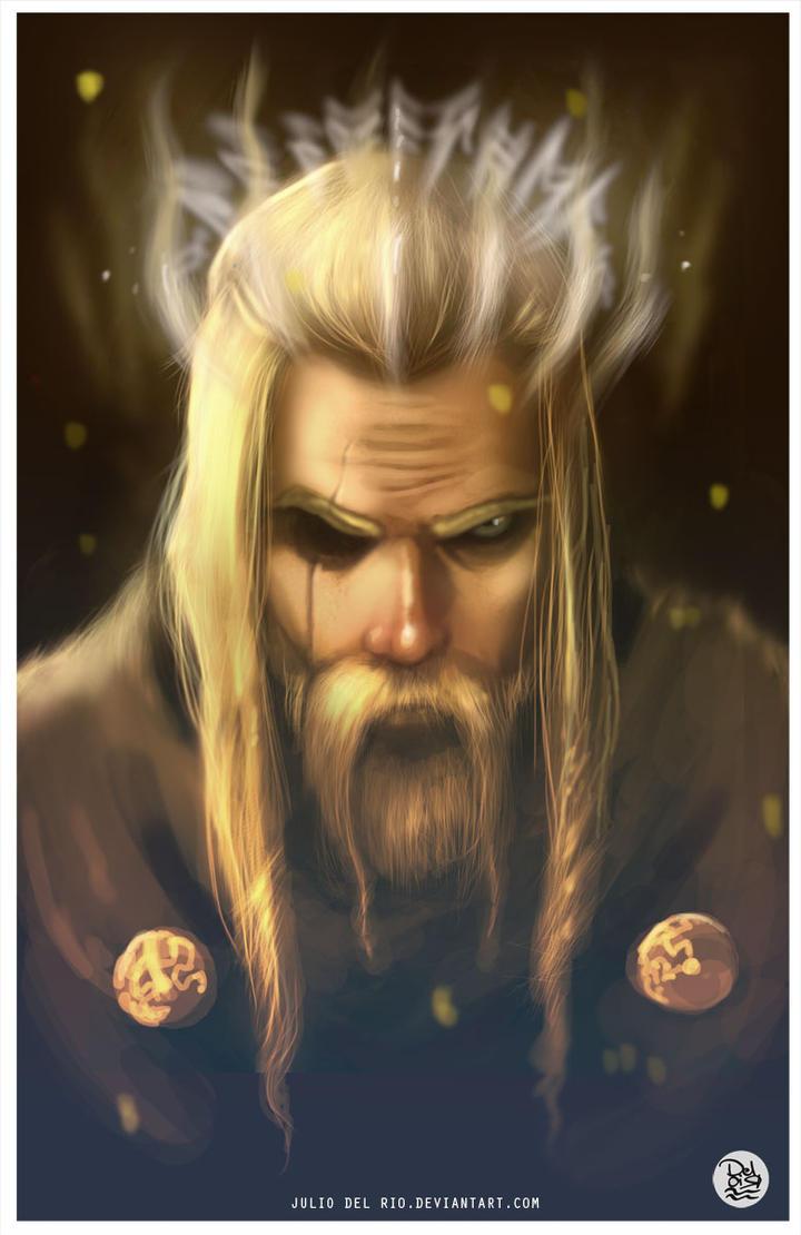Odin by juliodelrio