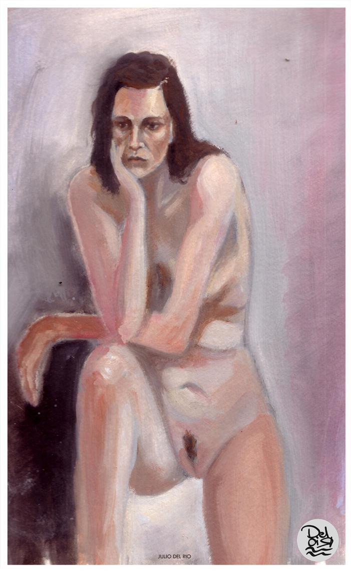 Vane Study by juliodelrio