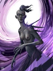 Vortex witch by juliodelrio