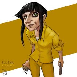 Zulema Vis a Vis Fanart by juliodelrio