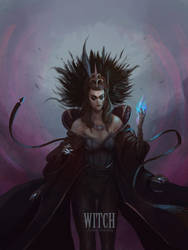 The Witch by juliodelrio