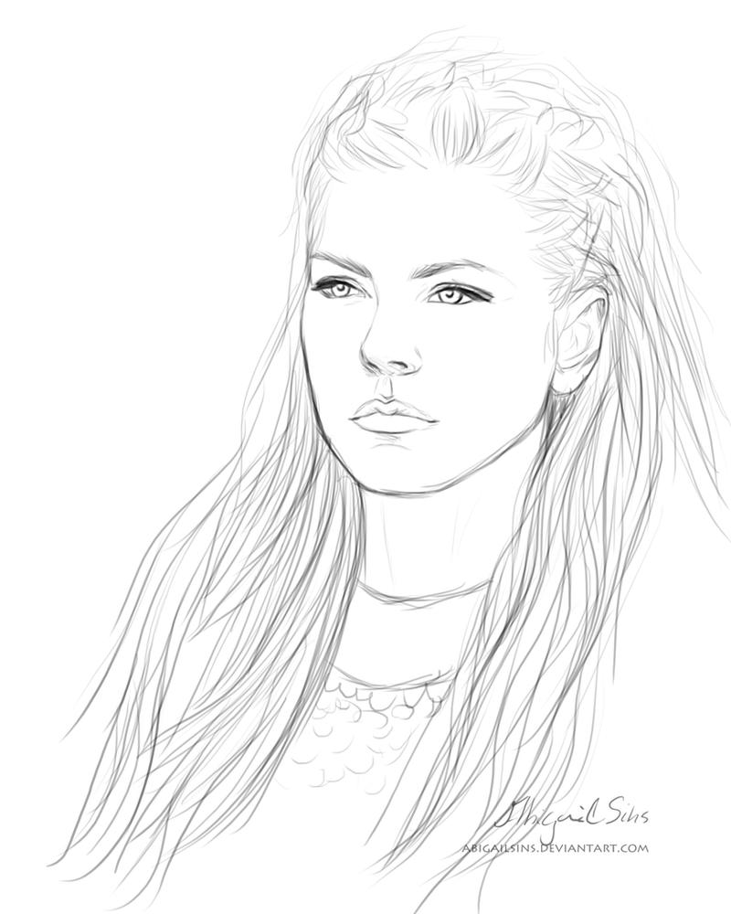 Lagertha by AbigailSins