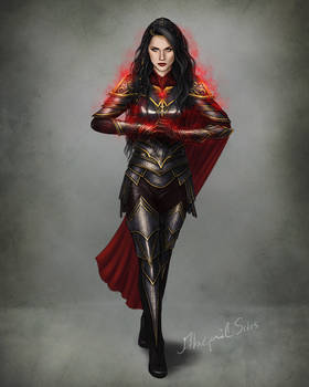 Anne - Sefarian armor concept