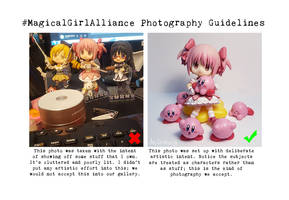 #MagicalGirlAlliance Photography Guidelines by MGAdmin