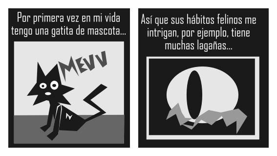Los extranos habitos felinos by Zhade-klim