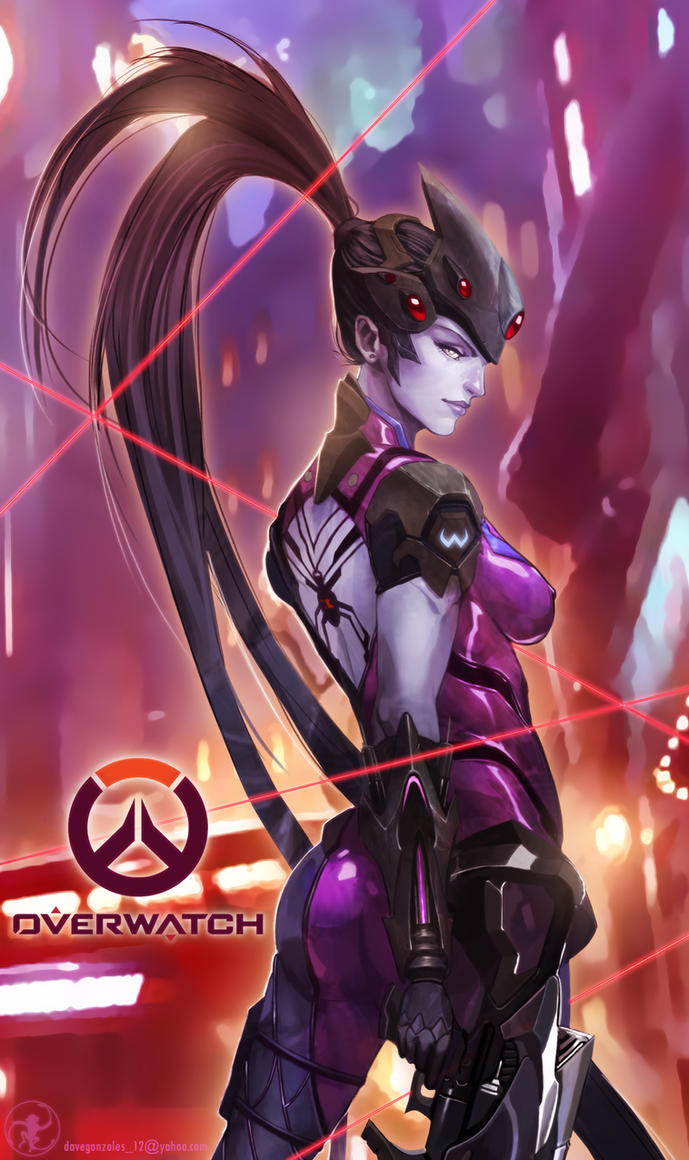 Widowmaker of Overwatch by turpentine-08