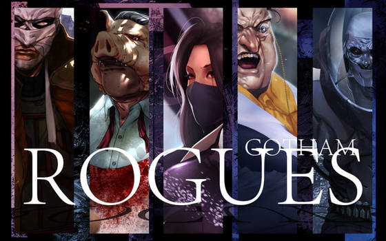 Gotham Rogues (2nd Batch) Preview
