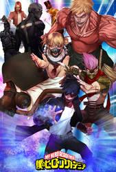 Boku no Hero Academia (villains) by turpentine-08