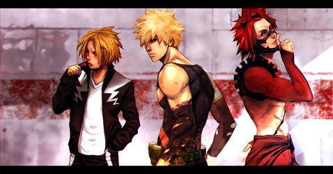 Team Bakugo by turpentine-08