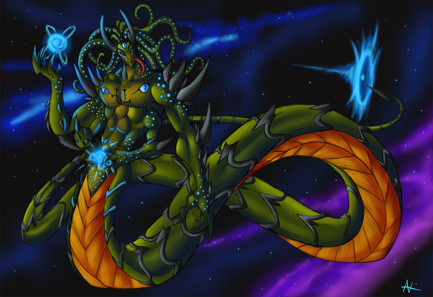 Ophiuchus by UndeadKitty13