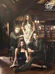 The Vampire Diaries Main Cast
