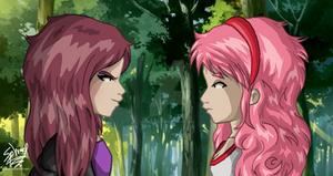 Aelita meets Taleia