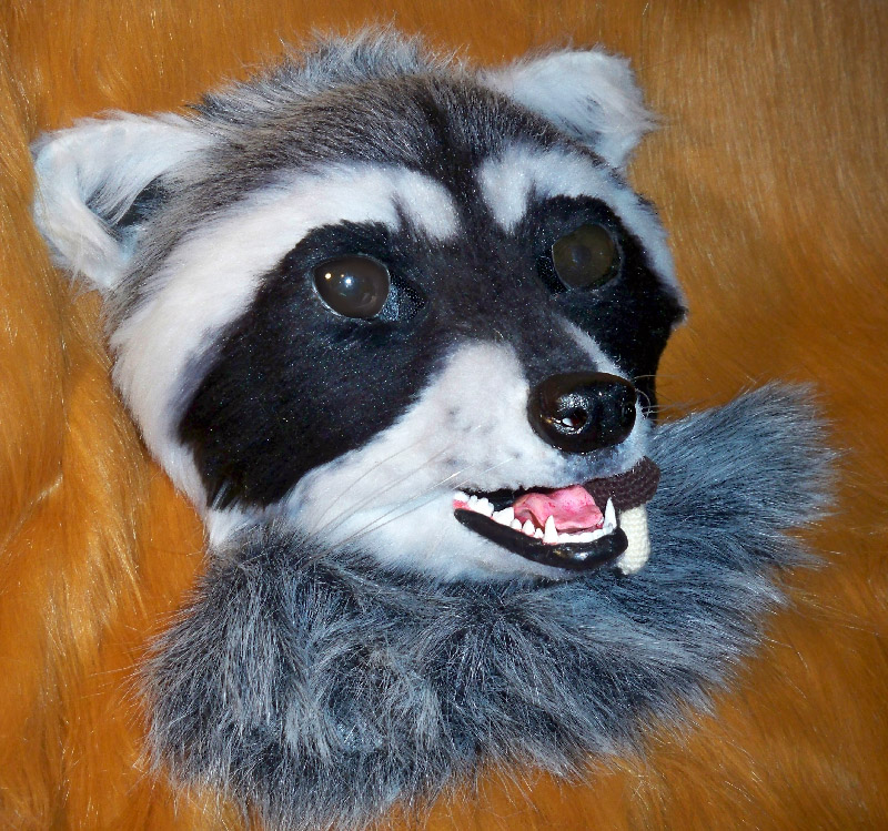 how to make a raccoon mask