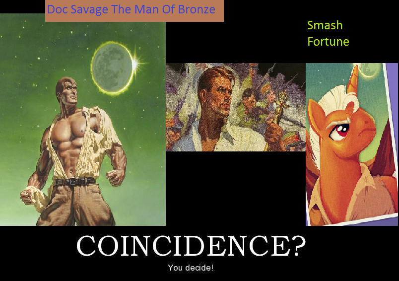 Doc Savage MLP by BlueBeacon