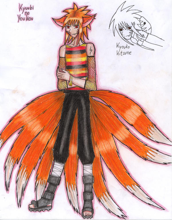 Kyuubi no Youkou - human form by Voldemortia on DeviantArt