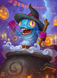 Happy Halloween! Mmrgrrlll