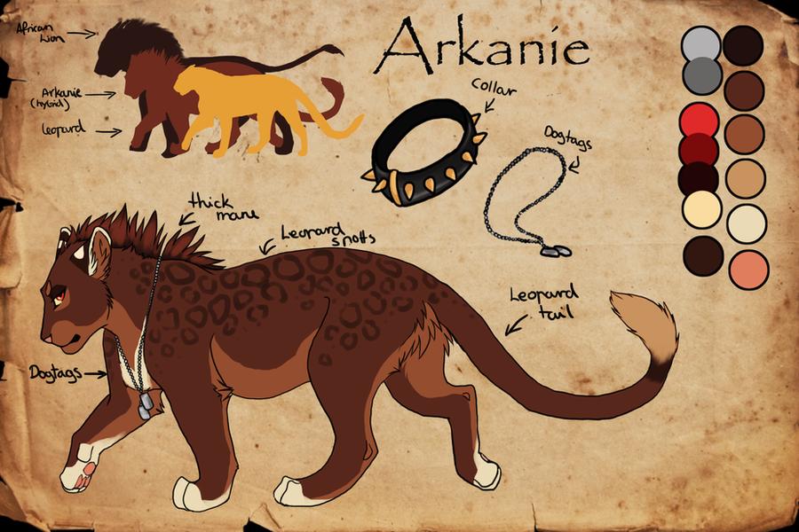 Arkanie Leopard Lion Hybrid By Arkanie On Deviantart