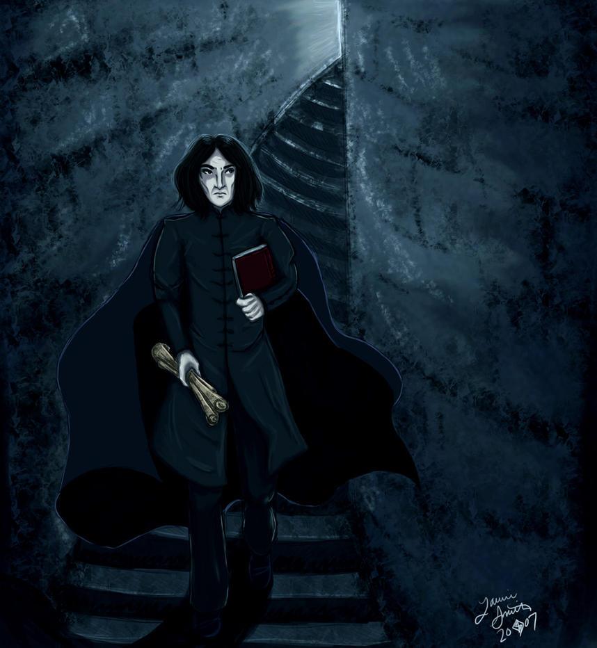 Snape's First Day by DoujimaYurika