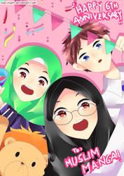 [Contest] Muslim Manga 6th Anniversary~ by Ida-chann