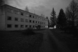 Abandoned Leevi boarding school by Kuradisiim