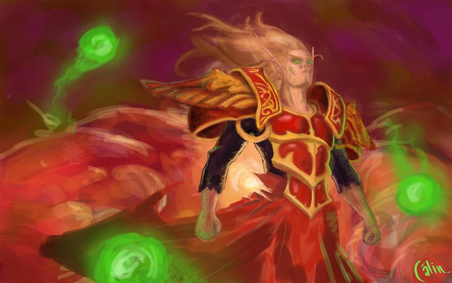 Blood elf by calinuz
