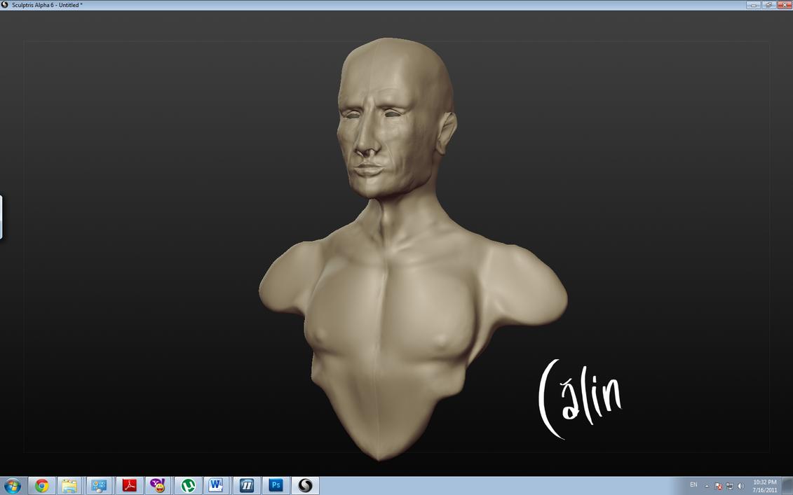 Sculptris first try by calinuz