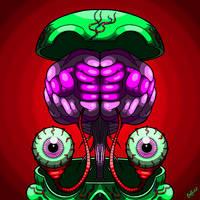 Mind Blower by GaryGuidrozArts