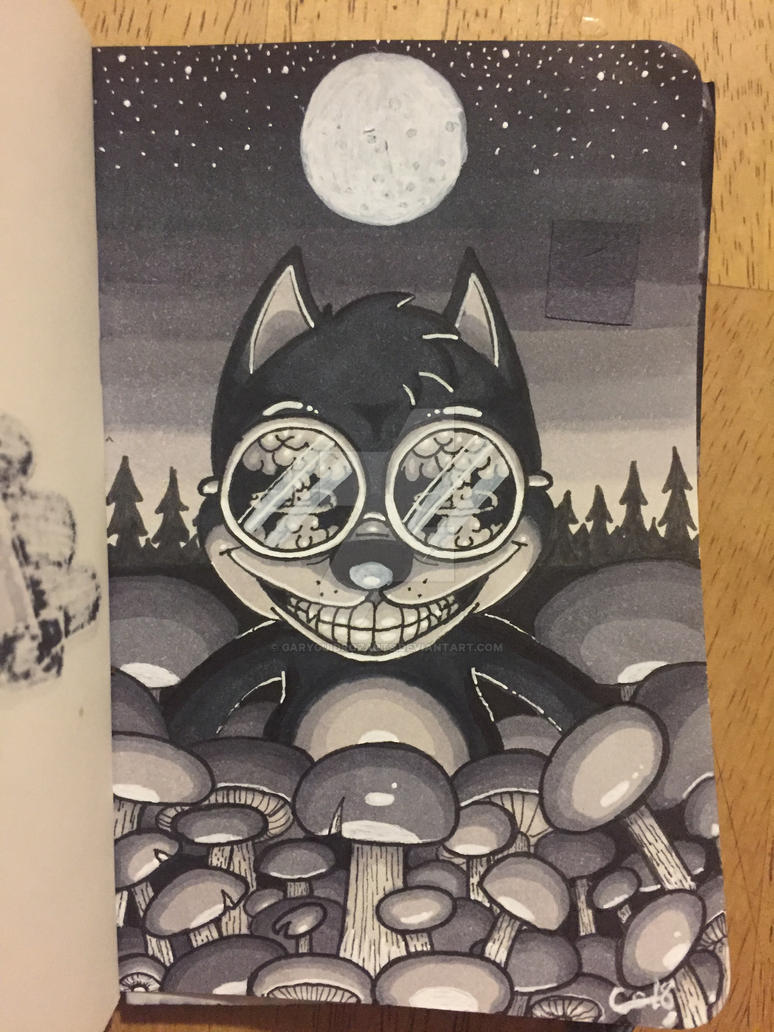 Bad Art Sketchbook Page 56 by GaryGuidrozArts