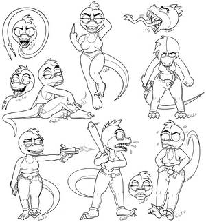 Lizzy Sketch Dump