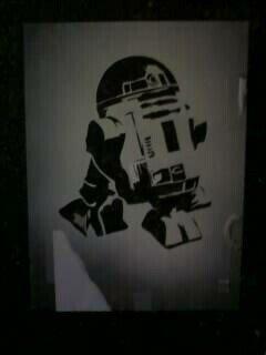 R2 D2 Stencil by dawgtag101  R2d2 Stencil