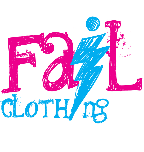 FAIL clothing quick logo by pindlekill
