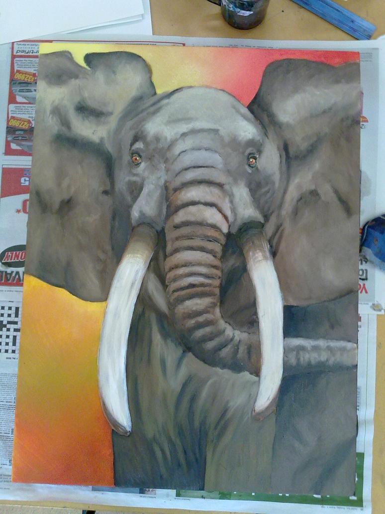 ELEPHANT by pindlekill