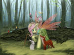 [Commisson]Forest pony