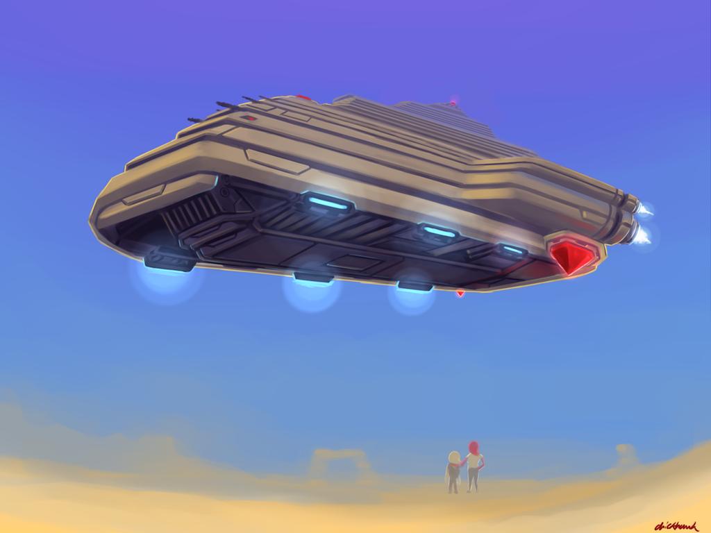 Avian Ship by Chickhawk96