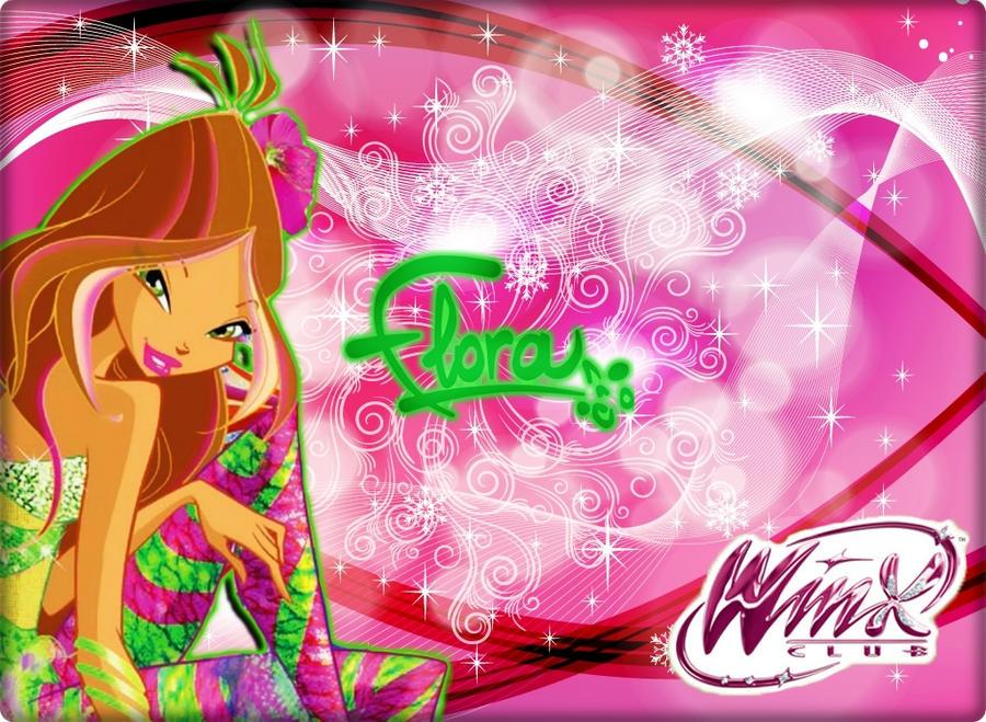 Winx Season 5 2d sirenix Flora  NEW! by AlexaSpears1333