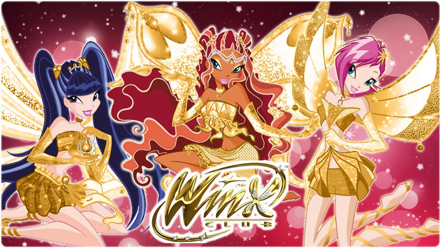 Winx Gold Enchantix by AlexaSpears1333