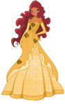 Aisha gold outfit- Request!