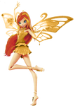Winx Bloom Gold enchantix 3d!